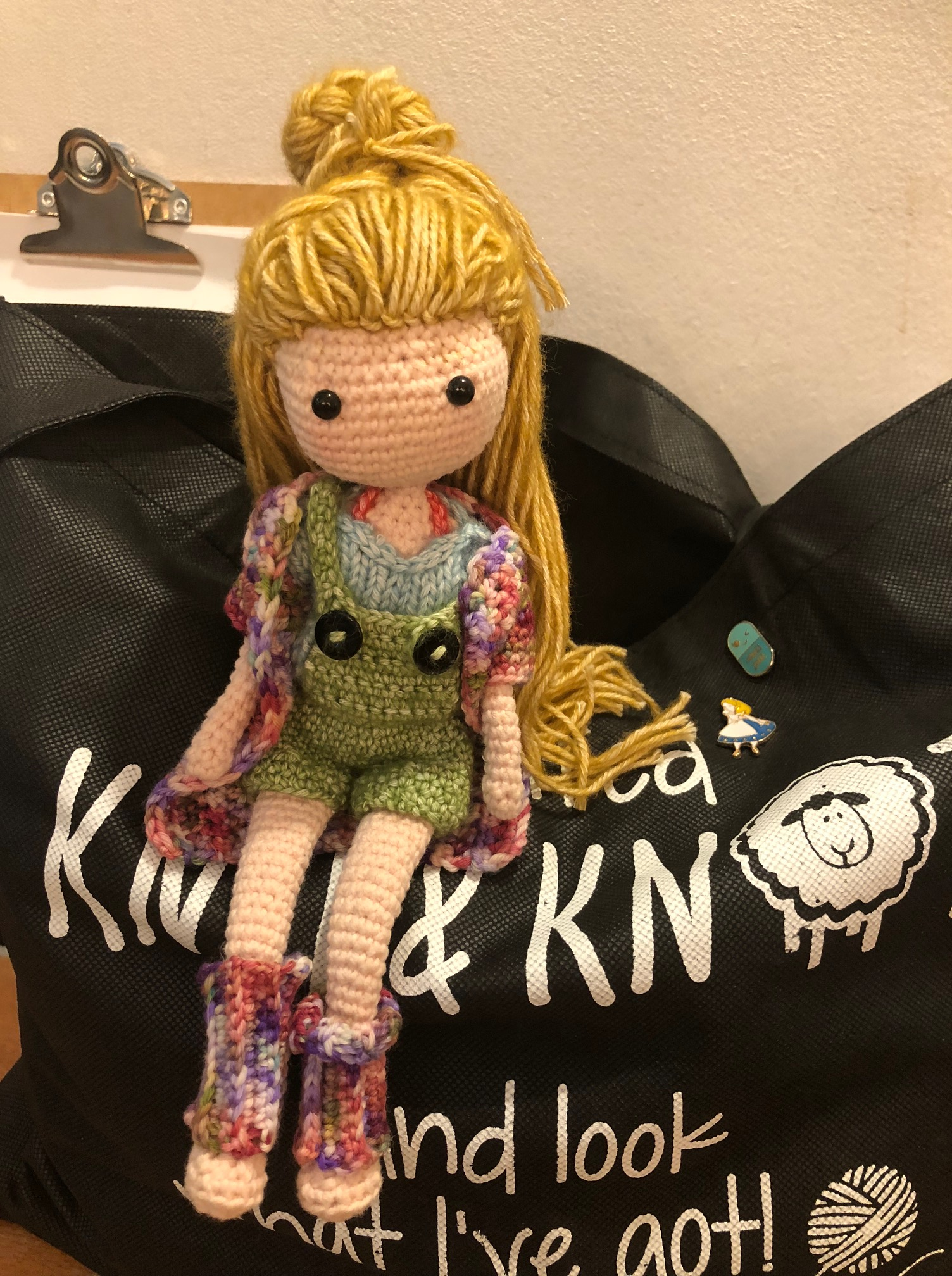 I Visited KNIT&KNOT and look what I've got!